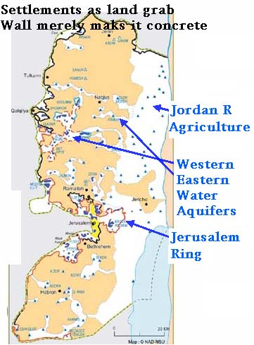 Sharing The Land Of Canaan Palestine - Palestine location